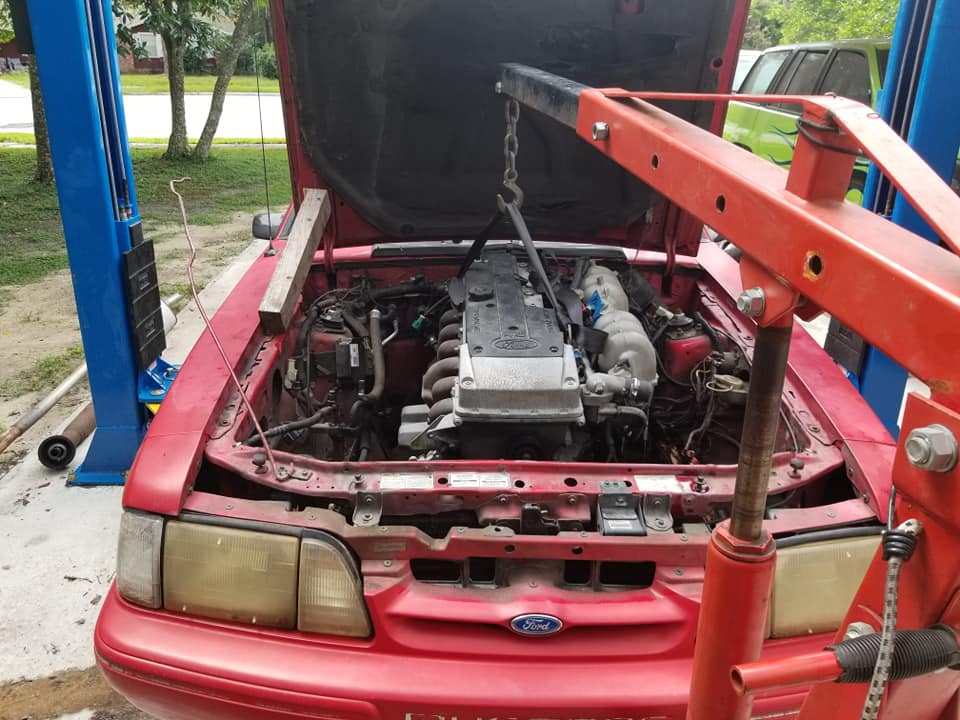 Barra Swapping a 1993 Foxbody Mustang In the United States of