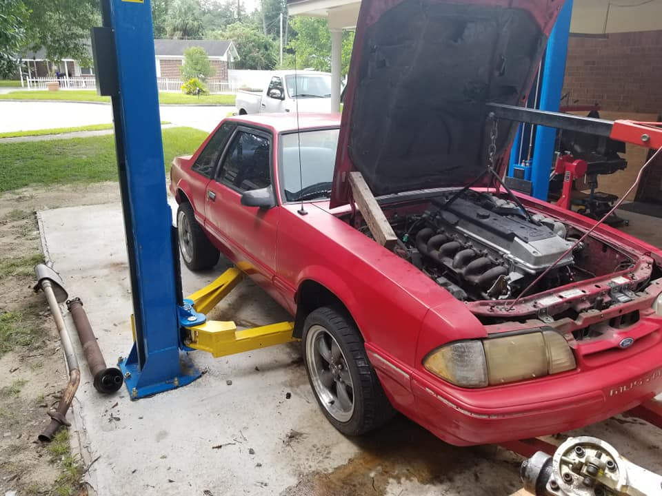 Barra Swapping a 1993 Foxbody Mustang In the United States