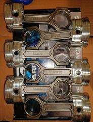 Spool drag pro rods with CP pistons