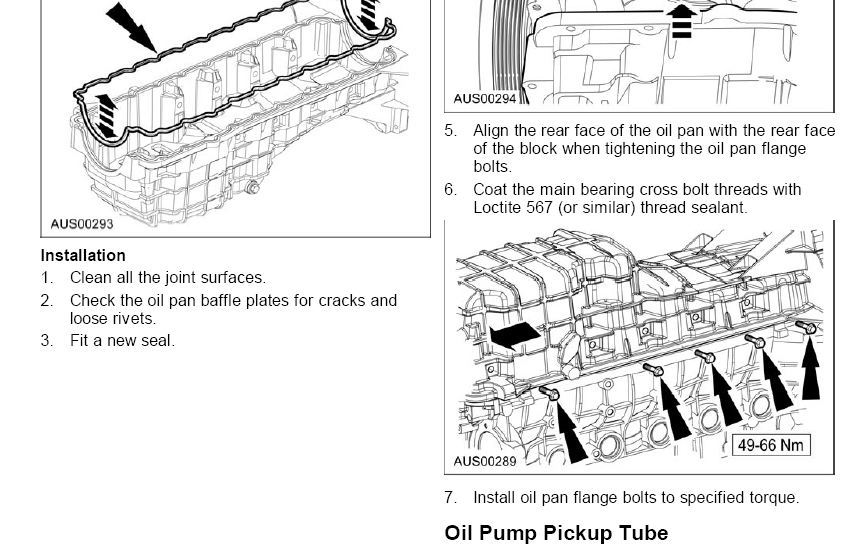 engine oil leak - ford discussion